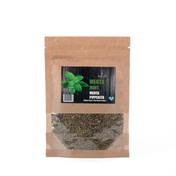 Μέντα βότανο σε βιοδιασπώμενη συσκευασία doypack για αφέψημα