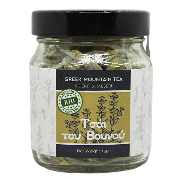 Βιολογικό Τσάι του Βουνού Iperos σε βαζάκι 25gr