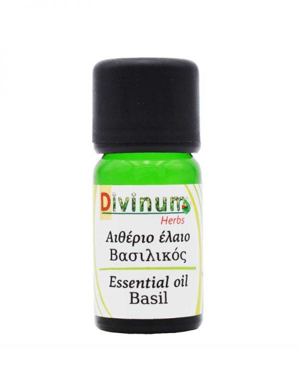 Αιθεριο έλαιο βασιλικού divinum essential oil