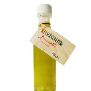 Μπουκαλάκι που περιέχει 100ml λάδι μέντας της εταιρίας divinum