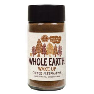 Υποκατάστατο καφέ whole earth wake up με γκουαρανα 125gr