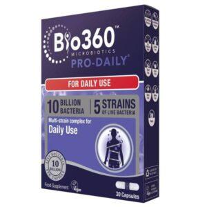 Προβιοτικά Pro-Daily Bio360 30 caps - Natures Aid σε μπλε συσκευασία