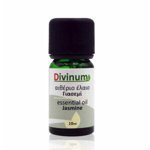 Αιθέριο έλαιο γιασεμί 10ml σε φιαλίδιο πράσινο με δοσομετρητή
