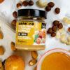 επάλειμμα 4 ξηρών καρπών με μέλι βιοαγρός