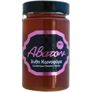 Μέλι κωνοφόρων ανθέων βιολογικό Άβατον 400gr