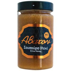 Μέλι σούσουρας (ρείκι) βιολογικό Άβατον 400gr