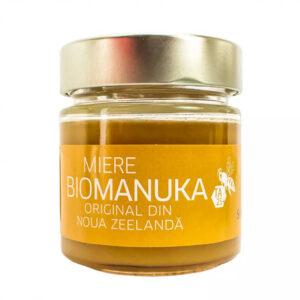 Μέλι μανούκα (TA25+) βιολογικό Νέας Ζηλανδίας Sonnentor 250gr το βαζάκι με το μέλι μέσα στη συσκευασία